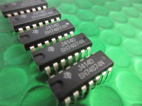 74s74 ** 5 per vendita ** £ 1.00 PZ Texas IC Sn74s74n