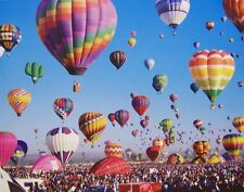 Jigsaw puzzle Hot Air Balloon Albuquerque Festival #2 1000 piece NIB