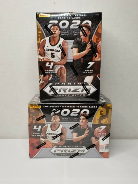 2020-21 Panini Prizm Draft Picks Basketball NBA Blaster New Sealed Lot of 2 🏀🔥