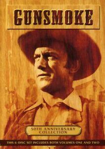 Gunsmoke-50th-Anniversary-Collection-Volumes-1-2-6-Disc-DVD-NEW