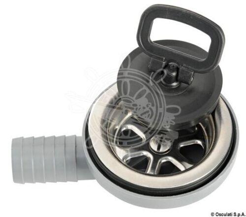 Osculati Ablaufgarnitur VA-Stahl//Moplen