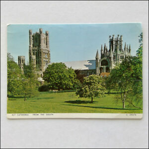 Ely-Cathedral-from-the-South-Postcard-P358