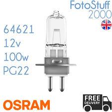 64621 12v 100w PG22 2000h Osram NAED 54032 Lamp for Medical Fiber Optic