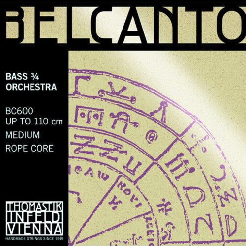 Thomastik Belcanto Orchester Kontrabass 3 4 Satz