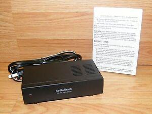 genuine radio shack 15 1214 video adapter component rf modulator rh ebay com Philips RF Modulator radio shack rf modulator instructions