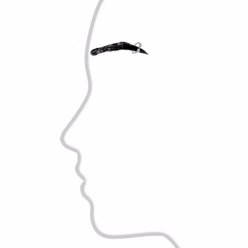 14k Solid White Gold Eyebrow Nipple Circular Barbell HorseShoe Body Jewelry