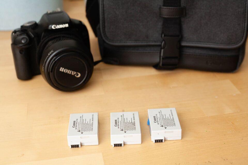 Canon, 550D, spejlrefleks