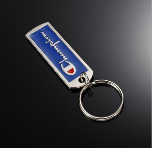 2019 Blue Logo Metal Tag Keychain Black Red Lanyard Accessory Key Chain