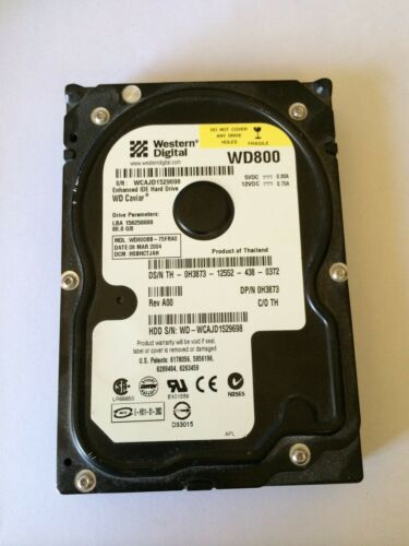 Western Digital Caviar WD800BB-75FRA0 80 GB Hard Drive