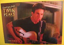 TWIN PEAKS Gold Box Edition DVD Postcard Post Card # 33 James Hurley Marshall NM