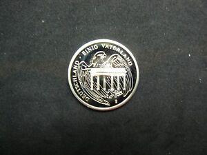 Konrad-Adenauer-Commemorative-034-Coin-034-034-Deutschland-Einig-Vaterland-034-Detailed