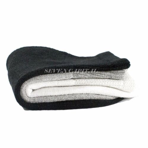 3 6 12 Dozen Pairs Diabetic Mens Womens Ankle Health Circulatory Cotton Socks