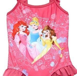 New M/&S Kids Disney Princess Little Mermaid Swimming Costume 12-18 Months