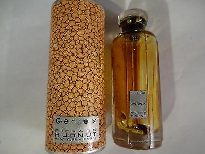 Neat Vintage Richard Hudnut Gemey Perfume Bottle With Original Box