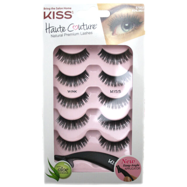 df603a561c1 Kiss Khlm01 Haute Couture Wink & Kiss Lightweight 5 Pairs False ...