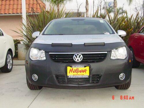 Colgan Front End Mask Bra 2pc.Fits VW EOS 2007-2011 W//License Plate /& Fogs