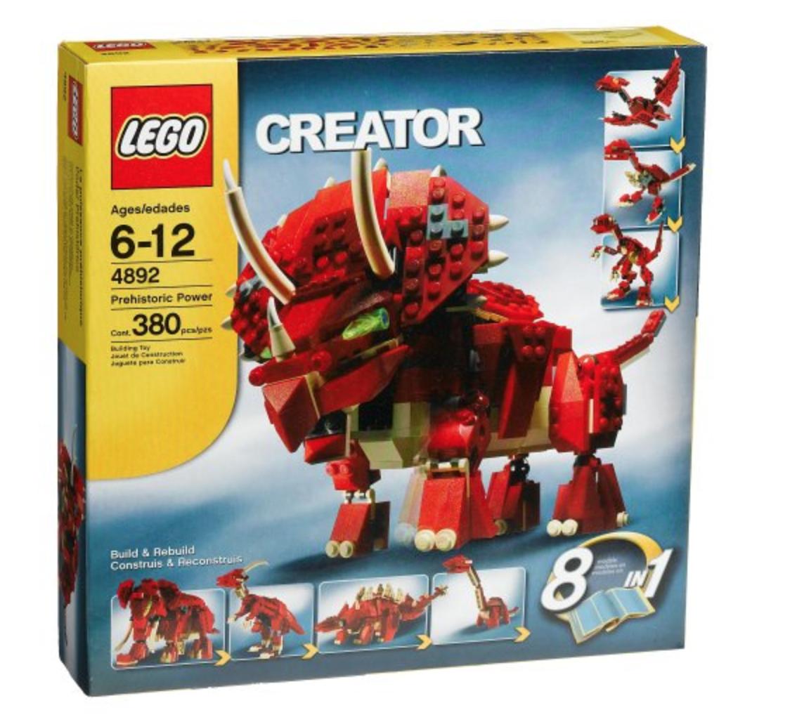Lego Creator Prehistoric  energia (4892)  prodotti creativi