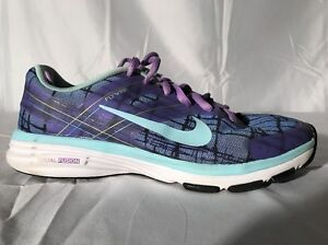 sneakers for cheap b838d b5738 Details about Nike Purple Flywire Running Cross-training Shoes Women's 5