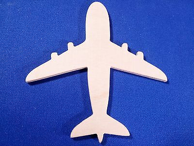 Plane  Wooden Craft Shape Sizes & Qtys Available Transport Jet Aeroplane Flying