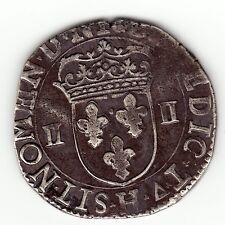 Henry IV 1605 H silver 1/4 ecu