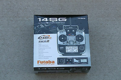 *NEW Futaba 14SG 2.4Ghz R/C Airplane Heli Radio Mode 2 R7008SB Receiver FASST