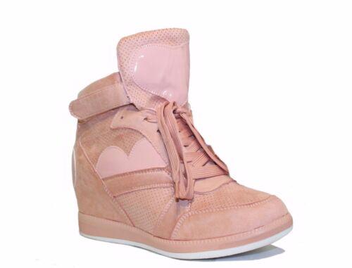 Interno Sneakers Rialzo Scarpe Inserti Donna Cm 6 Sportive B21 Cuore Ginnastica pq0wHq
