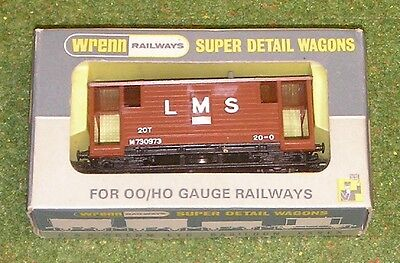 Toys & Hobbies Strong-Willed Wrenn Railways Oo Gauge Wagons W44311p Guards Van L.m.s. Model Railroads & Trains