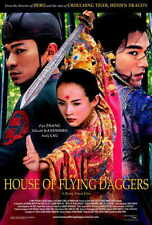 HOUSE OF FLYING DAGGERS Movie POSTER 27x40 Takeshi Kaneshiro Andy Lau Zhang Ziyi