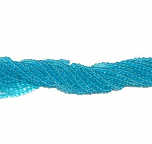 "6mm Aqua Quarts Manmade Gemstone beads Round Beads 15/"" Loose Strand"