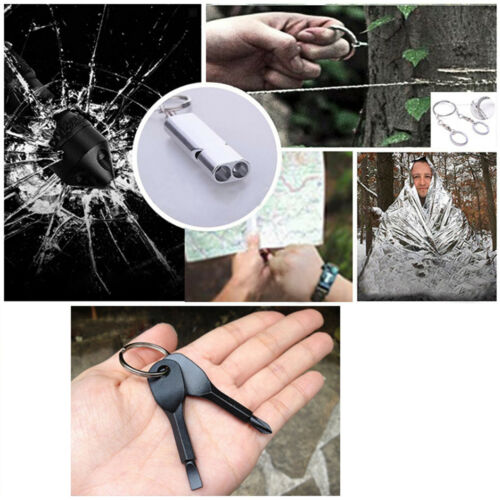 15 in 1 Outdoor Survival Kit Camping Emergency Gear Tactical Tools EDC Tool Case