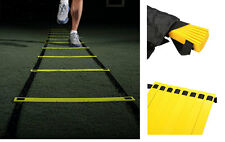 Durable 8-rung Agility Ladder Soccer Speed Football Fitness Sport Training 12 ft