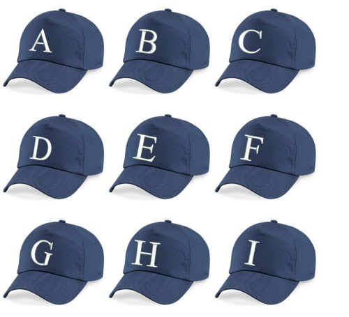 Z  Embroidered Baseball Caps Hat Girls Boys Children Kids Summer Navy A
