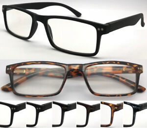 R75-High-Quality-Reading-Glasses-Spring-Hinges-Retro-Classic-Style-amp-Great-Value