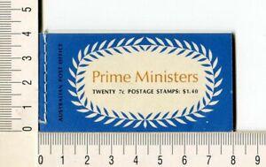 41150) Australia 1972 MNH QEII 7c (x20) n.505/08 Booklet Sg B51 -imperf L & R