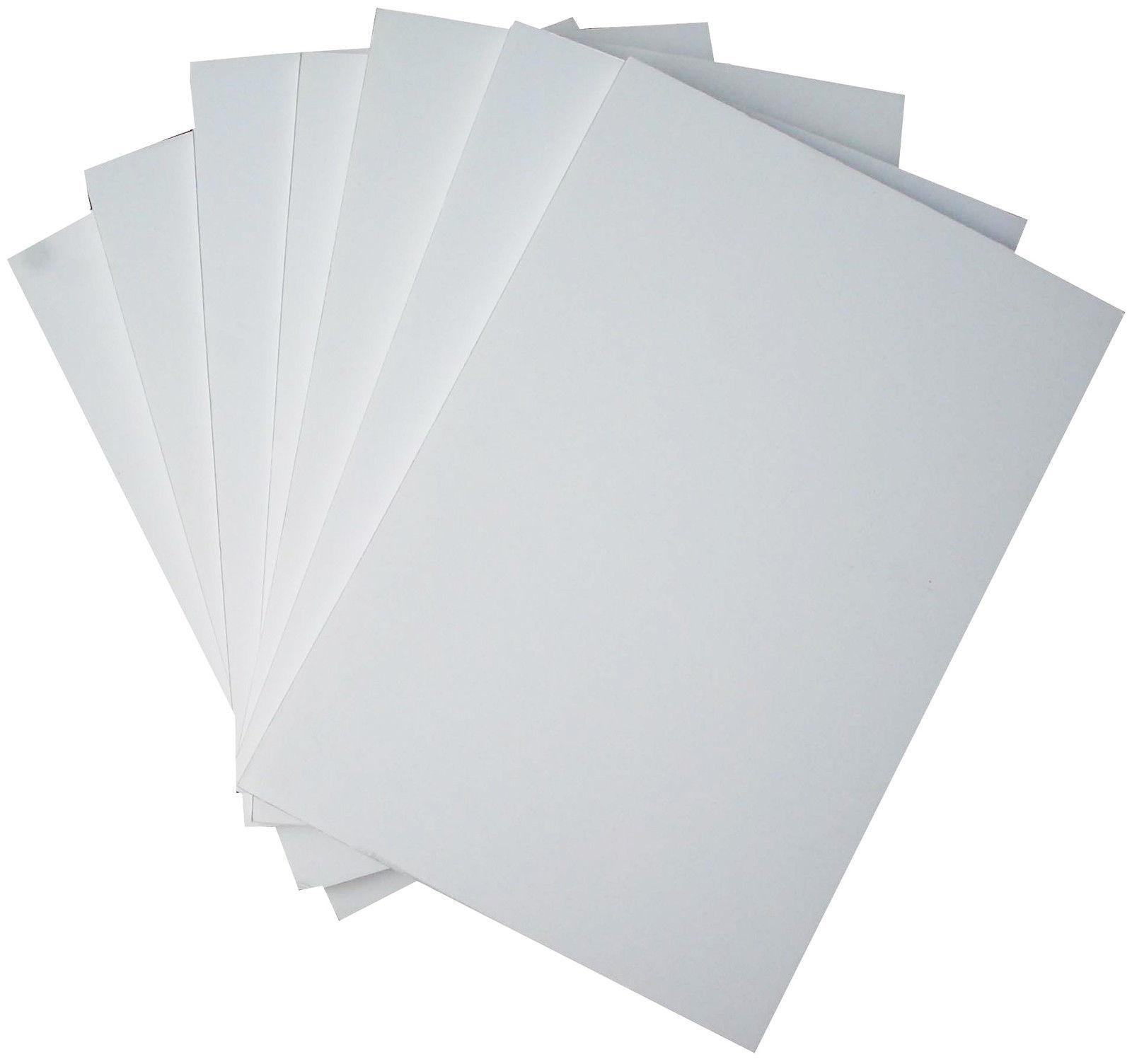 White foam board foamboard 5mm a3 size sheets ebay for How to cut thick craft foam