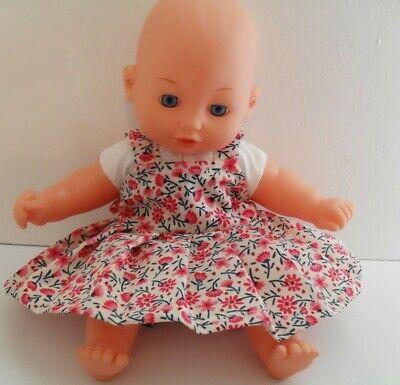 """12"""" Abito Pinny Bambole Vestiti Fatti A Mano Fit 30cm Bambola-mostra Il Titolo Originale Prendiamo I Clienti Come Nostri Dei"""