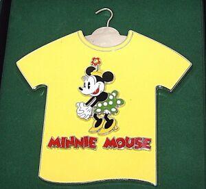 47df188e New LE JUMBO Disney Pin✿Retro Classic Minnie Mouse T-Shirt Polka ...