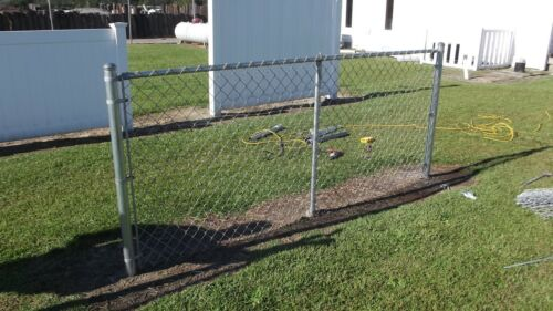 """1 7//8/"""" Extend-a-Fence Chain Link Raise Your Fence up to 2/' Post Kit Add Height"""