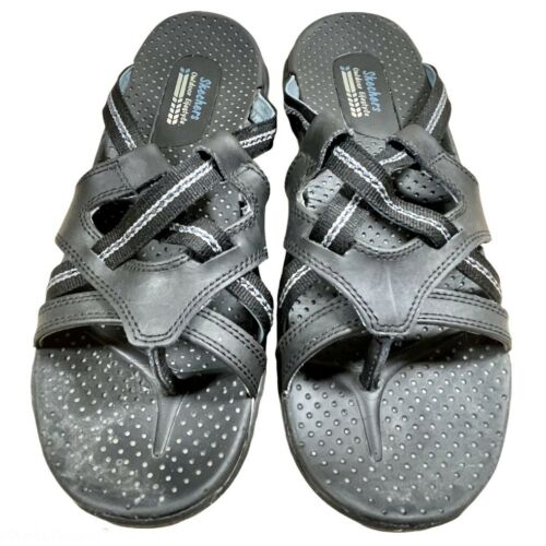 Sketchers Reggaes Women's New Blue And Multicolor Sandals Size 9//39