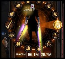 Diablo 3 RoS PS4 [SOFTCORE] Modded Primal Necromancer Set Barren 150 Grift Easy!