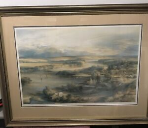 Hand-Signed-Limited-Edition-Large-Kenneth-Jack-1924-2006-Collotype-Print