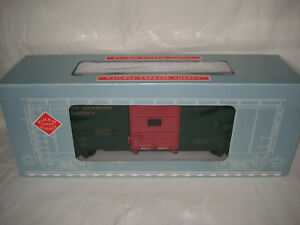 VINTAGE-ARISTOCRAFT-REA-G-SCALE-RAILWAY-EXPRESS-AGENCY-BOXCAR-46013-MINT-OB