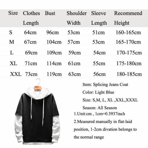 Anime One Piece Law Layered Hoodie Colorblock Pullover Sweatshirt Top Streetwear