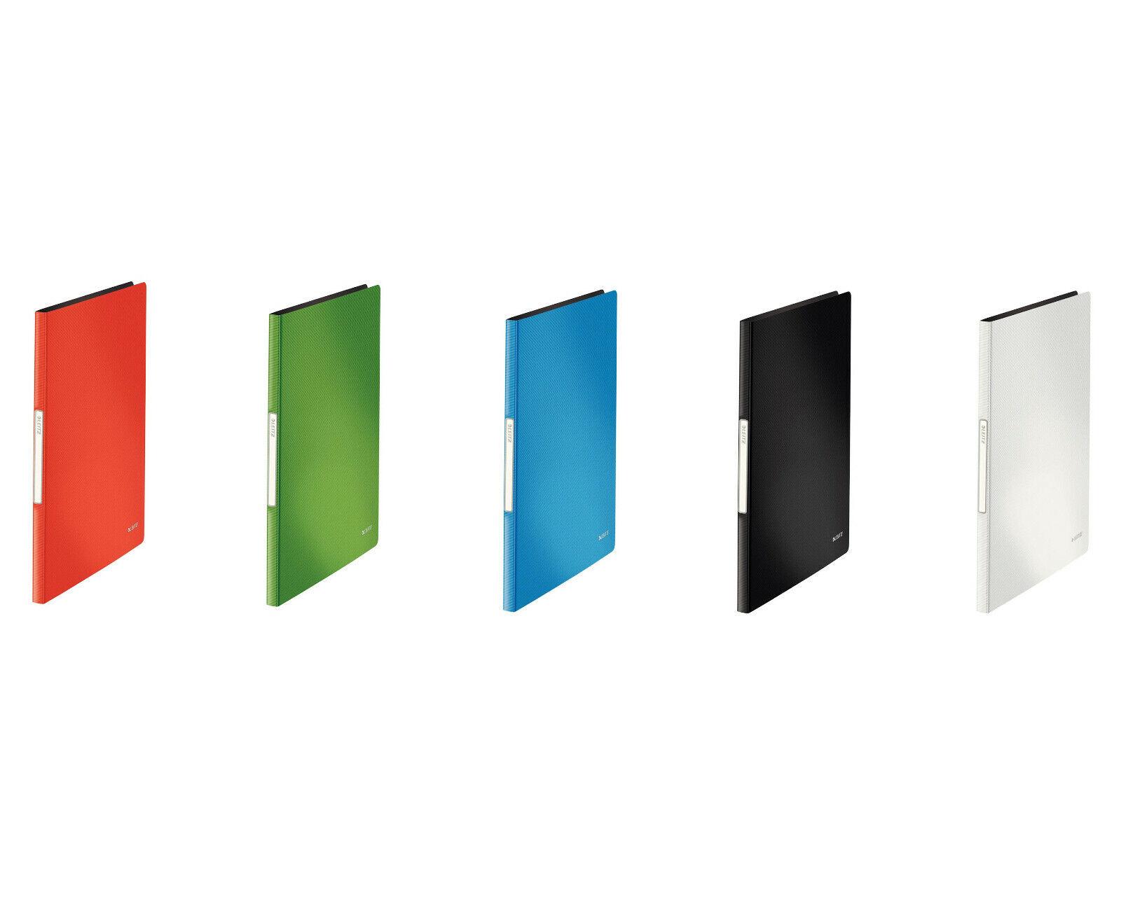 hellgrün LEITZ Sichtbuch Solid mit 20 Hüllen PP A4