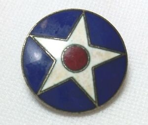 Details about US Army Air Corps Branch Insignia Badge Pin 1926-1941