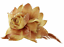 NEW Pretty Glitter /& Feather Rose Hair Clip//Fascinator//Corsage//Brooch UK Seller