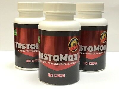 3 TESTOMAX Testosterone Booster Testosterone Supplement Sexual High T BUTE 650181839366 eBay