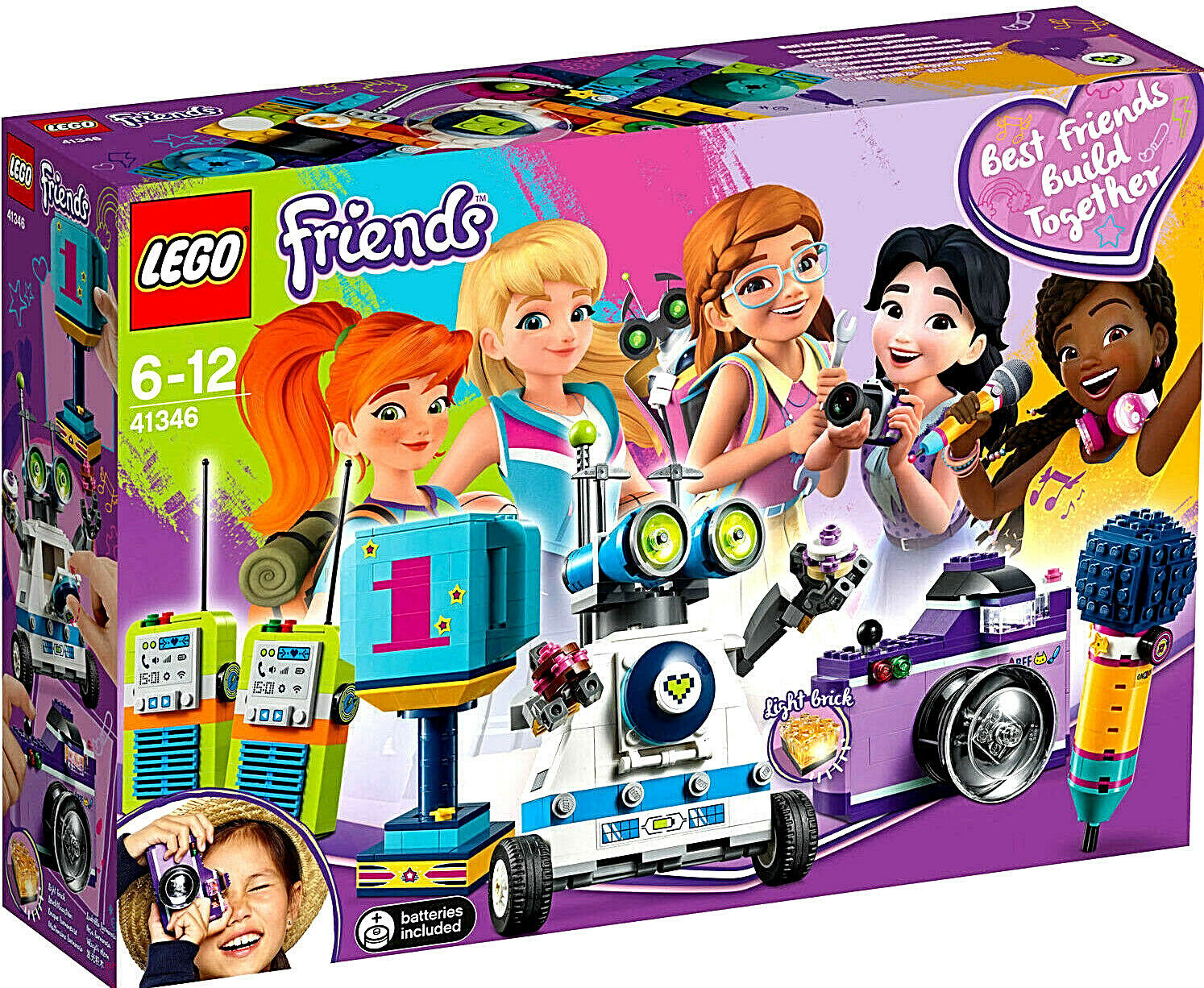 LEGO 41346 Friends Friendship Box,   Five Buildable Accessories   Brand New
