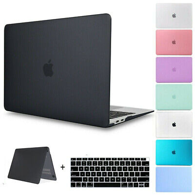 """Matte Rubberized Hard Case shell For 2015 Macbook 12/"""" Pro 13 15/""""Air 11 13/""""inch"""