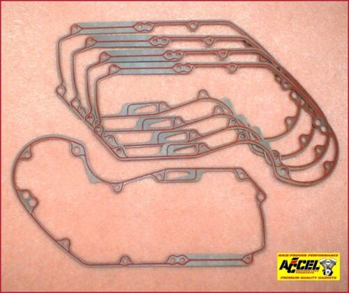 1986-90 Harley Sportster 25263-86 ref Silicone Beaded 5-pk Cam Cover Gasket